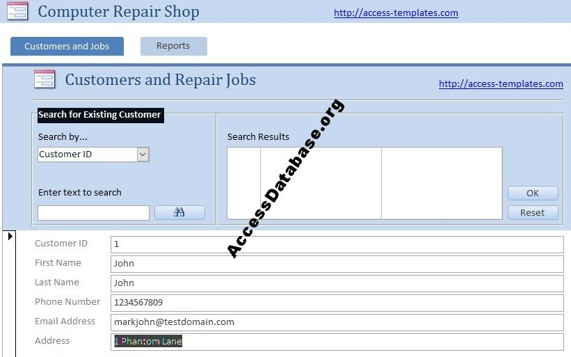 Computer Shop Software