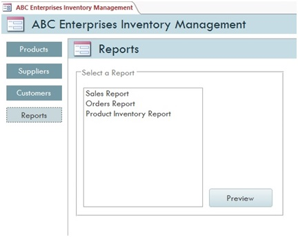 small business inventory software